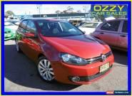 2010 Volkswagen Golf 1K MY10 118 TSI Comfortline Red Manual 6sp M Hatchback for Sale