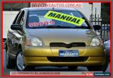 Classic 2000 Toyota Echo NCP10R Gold Manual 5sp M Hatchback for Sale