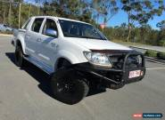 2005 Toyota Hilux SR5 Man White Manual 5sp M Dual Cab for Sale