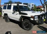 2014 Toyota Landcruiser VDJ78R MY12 Update Workmate (4x4) 11 Seat White Manual for Sale