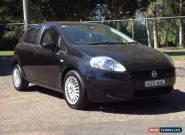 2006 Fiat Punto Dynamic Black Automatic 5sp A Hatchback for Sale