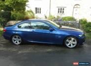 BMW, 3 Series, 325i, Coupe, E92, 2007, Blue. KJ57EHU for Sale