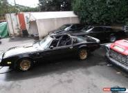 Pontiac : Trans Am bandit for Sale