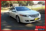 Classic 2010 Honda Accord Euro Luxury White Automatic A Sedan for Sale