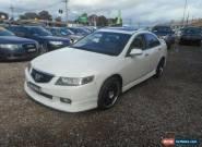 2004 Honda Accord Euro Luxury White Manual 6sp M Sedan for Sale