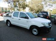 2011 Toyota Hilux TGN16R MY11 Upgrade Workmate White Manual 5sp M for Sale