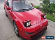 Toyota: MR2 Turbo for Sale