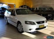 2008 Ford Falcon BF White Automatic A Wagon for Sale