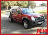 2007 Holden Rodeo RA MY07 LX Red Manual M 4D UTILITY for Sale