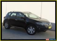 2010 Nissan Murano Z51 MY10 TI Black Automatic A Wagon for Sale