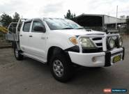 2007 Toyota Hilux KUN26R 07 Upgrade SR (4x4) White Manual 5sp M for Sale