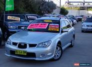 2006 Subaru Impreza MY06 RV Luxury Silver Automatic 4sp A Hatchback for Sale