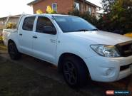2010 Toyota Hilux GGN15R MY11 Upgrade SR White Automatic 5sp A for Sale