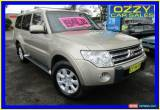 Classic 2008 Mitsubishi Pajero NS GLX LWB (4x4) Gold Automatic 5sp A Wagon for Sale