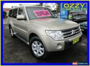 2008 Mitsubishi Pajero NS GLX LWB (4x4) Gold Automatic 5sp A Wagon for Sale