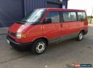 1993 Volkswagen Transporter Allstar Multivan 2.4 Diesel Manual Spares or Repair for Sale