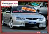 Classic 2003 Holden Commodore VY II SS Silver Automatic 4sp A Sedan for Sale