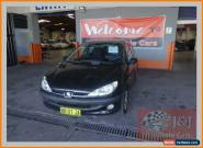 2004 Peugeot 206 XR Black Automatic 4sp A Hatchback for Sale