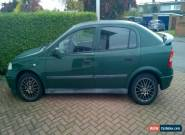 1998 VAUXHALL ASTRA LS 16V GREEN for Sale