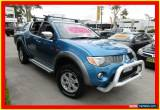 Classic 2006 Mitsubishi Triton ML MY07 GLX-R Blue Automatic 4sp A Utility for Sale