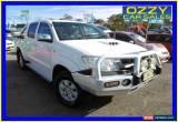 Classic 2009 Toyota Hilux KUN26R 08 Upgrade SR5 (4x4) Glacier White Manual 5sp M for Sale