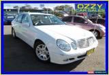 Classic 2005 Mercedes-Benz E200K 211 Elegance White Automatic 5sp A Sedan for Sale
