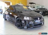 2011 Holden Commodore VE SS Black Manual M Utility for Sale