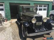 1929 Chevrolet Other 2 door Sedan (back seat) for Sale