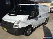 2012 Ford Transit VM MY12 Update Low (SWB) White Manual 6sp M Van for Sale