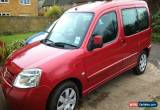 Classic 2006 CITROEN BERLINGO M-S FORTE 16V RED 12 MONTHS MOT for Sale