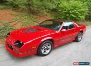 1986 Chevrolet Camaro for Sale