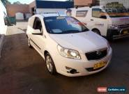 2010 Holden Barina TK MY11 White Manual 5sp M Hatchback for Sale