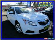 2012 Holden Cruze JH MY13 CD Equipe White Automatic 6sp A Hatchback for Sale