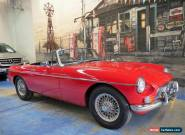 1966 MG B Red for Sale