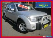 2007 Nissan Navara D40 ST-X Silver Automatic 5sp A Dual Cab Pick-up for Sale