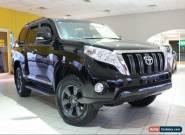 2015 Toyota Landcruiser Prado Altitude Black Automatic A Wagon for Sale