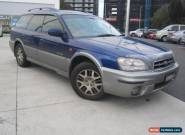 2003 Subaru Outback International H6 3.0L Automatic  for Sale