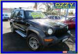 Classic 2001 Jeep Cherokee KJ Sport (4x4) Black Automatic 4sp A Wagon for Sale