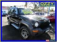 2001 Jeep Cherokee KJ Sport (4x4) Black Automatic 4sp A Wagon for Sale