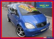 2000 Mercedes-Benz A160 Classic Blue Automatic 5sp A Hatchback for Sale