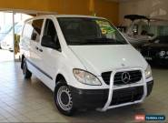 2006 Mercedes-Benz Vito LOW ROOF 639 115CDI White Automatic A Van for Sale