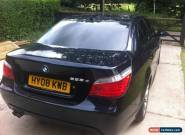2008 BMW 525D M SPORT A BLACK for Sale