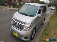 2004 Nissan Elgrand Highwaystar E51 Auto for Sale