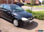 2005 VAUXHALL CORSA SXI 16V TWINPORT BLACK for Sale