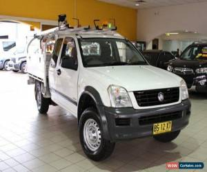 Classic 2005 Holden Rodeo RA MY05 LX White Automatic 4sp A Cab Chassis for Sale