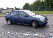 2002 VAUXHALL ASTRA LS DTI 16V ECO BLUE for Sale