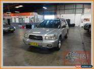 2003 Subaru Forester MY03 XS Luxury Silver Automatic 4sp A Wagon for Sale