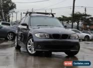 2006 BMW 120I E87 20I Sparkling Graphite Manual 6sp M Hatchback for Sale