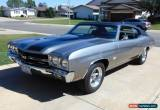 Classic 1970 Chevrolet Chevelle SS for Sale