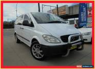 2005 Mercedes-Benz Vito 639 115CDI White Automatic 5sp A Van for Sale
